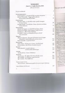 Clicca sull'immagine per ingrandire e leggere l'indice de IL PIEDE E L'ORMA n.2