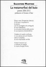 Salvatore Martino, La metamorfosi del buio (poesie 2006-2012)