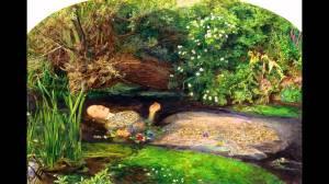 J. E. Millais, Ophelia, 1851-'52